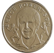 Token - 15 Great All Blacks (Bruce Robertson) – obverse