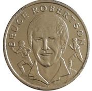 Token - 15 Great All Blacks (Bruce Robertson) – obverse