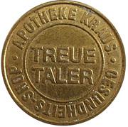 Treue Taler - Apotheke Kraus – obverse