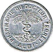5 Centimes - Pharmacie Docteur Ferret (Albi) – obverse