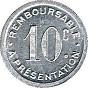 10 Centimes - Pharmacie Docteur Ferret (Albi) – reverse