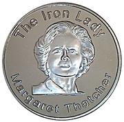 Token - Margaret Thatcher – obverse