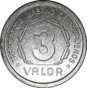 Transit Token - 3 Valor (Municipalidad de San Miguel de Tucuman) – reverse