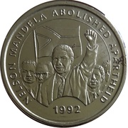 Millennium Medal Collection - Nelson Mandela – obverse