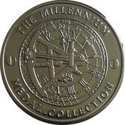 Millennium Medal Collection - Nelson Mandela – reverse