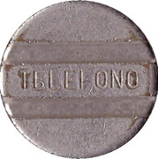 Telephone Token - Entel (long-distance calling) – reverse