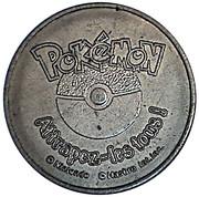 Token - Pokemon (#128 Tauros) – obverse