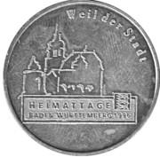 Token - Bürgerspital Weil – obverse