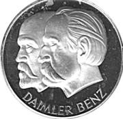 Token - Daimler Benz – obverse