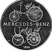Token - Daimler Benz – reverse