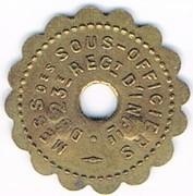 15 Centimes - 23° Régiment d'Infanterie - Bourg-en-Bresse (01) – obverse