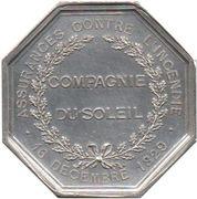 Token - Assurances Compagnie du Soleil – reverse