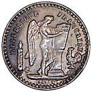 Jeton 20 francs Dupré (Copie) – obverse