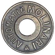 Jeton Prime - Automatic Molinari – reverse