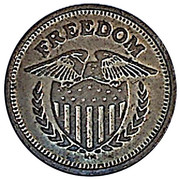 25 Cents (Freedom) – obverse