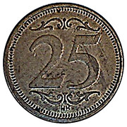 25 Cents (Freedom) – reverse