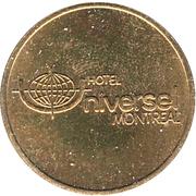 Parking Token - Hotel Universel de Montréal – reverse