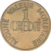 1 Credit - Amusements Côté Inc (St-Agapit, Québec) – reverse