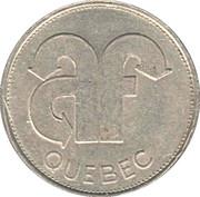 Token - Autobus Fournier (Québec) – reverse
