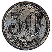 50 Centimes - A Consommer – reverse
