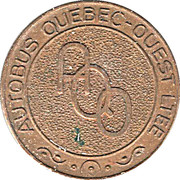Token - Autobus Québec-Ouest LTEE – reverse