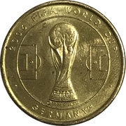 Token - 2006 FIFA World Cup (Costa Rica) – reverse