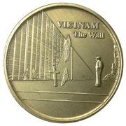 Token - Vietnam The Wall – reverse