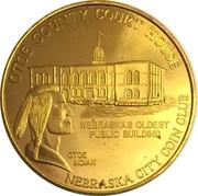 Token - Nebraska Centennial (Nebraska City Coin Club) – obverse