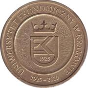4 UEKi - Uniwersytet Ekonomiczny w Krakowie – obverse