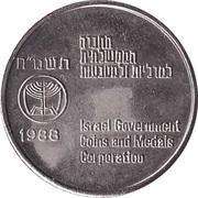 Token - Jerusalem Reunited – reverse