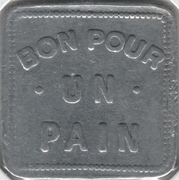 1 Pain- Albert Drolet, boulanger (Québec, Québec) – reverse