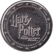 Token - Harry Potter and the Philosopher's Stone (Gryffinndorf) – reverse