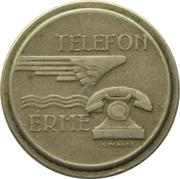 Telephone Token - Telefon Erme (Copper-nickel) – obverse