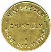 5 Francs - Chantilly – obverse