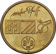Token - Borussia Dortmund BVB 09 (Ottmar Hitzfeld) – reverse