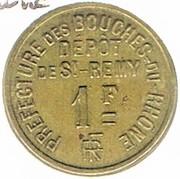 1 Franc - St Rémy-de-Provence – obverse
