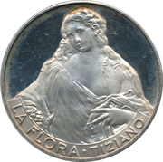 Token - Tiziano (La Flora) – obverse