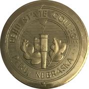 Token - Nebraska Centennial (Peru State College) – obverse