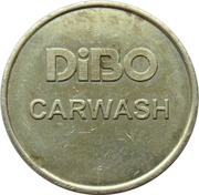 Car Wash Token - Dibo (Copper-nickel) – obverse