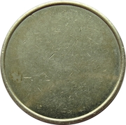 Car Wash Token - Dibo (Copper-nickel) – reverse