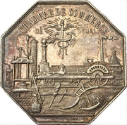 Jeton - Chambre de Commerce de Douai – reverse
