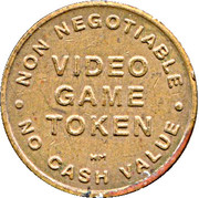 Video Game Token - Coin It Up! – reverse