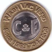 1 Dollar Car Wash Token - С&F – obverse