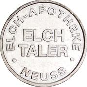 Elch Taler - Elch Apotheke (Neuss) – reverse