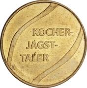Kocher-Jagst Taler - Marien Apotheke & Schloss Apotheke & Morstein Apotheke (Dörzbach, Ingelfingen, Niedernhall) – reverse