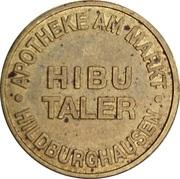 Hibu Taler - Apotheke am Markt (Hildburghausen) – reverse