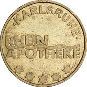 Rhein Taler - Rhein Apotheke (Karlsruhe) – obverse