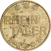 Rhein Taler - Rhein Apotheke (Karlsruhe) – reverse