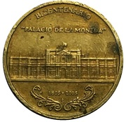 "Token - Bicentennial ""Palace of the Coin"" (FISA) – obverse"