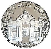 Token - Président de la République (Louis Napoléon Bonaparte) – reverse